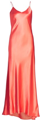 Adriana Iglesias Jadi Silk Slip Gown