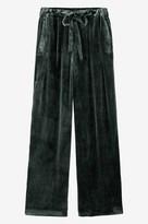 Toast Silk Velvet Drawstring Trouser