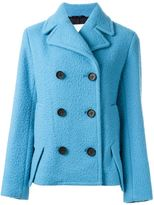 3.1 Phillip Lim classic peacoat - women - Cotton/Polyamide/Viscose/Virgin Wool - 4