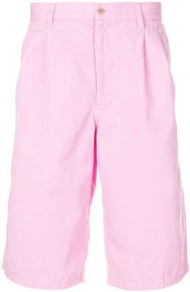 Comme des Garcons Pleated Detail Deck Shorts