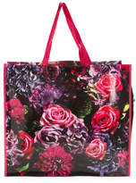 Digital Floral Reusable Bag