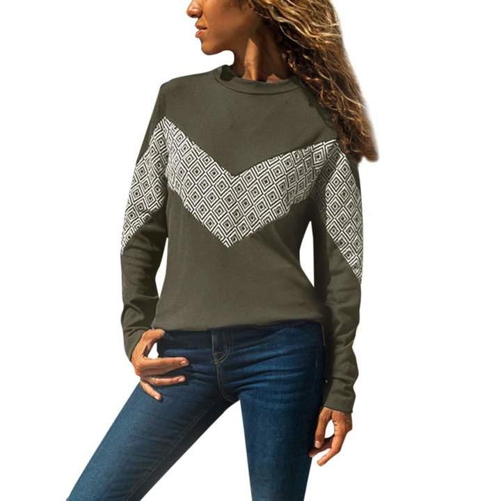 18487a49b6 Women's Colourful Long Sleeve Shirt - ShopStyle Canada