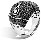 John Hardy Bamboo Silver Lava Dome Ring with Black Sapphire - 100% Bloomingdale's Exclusive
