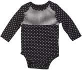 Kidtopia Newborn Girls 0/3M-6/9M Onesie with Polka Dots in , 3/6M