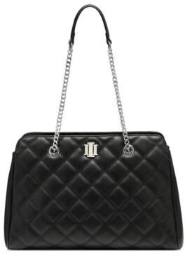 INC International Concepts Inc Jehnna Quilted Satchel, Created for Macy's