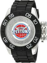 Game Time Men's NBA-BEA-DET Beast Round Analog Watch