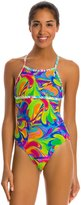 Illusions Activewear Priscilla Psychedelic Monokini One Piece Swimsuit 7533246