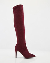 Le Château Stretch Faux Suede Over-The-Knee Boot