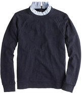 J.Crew Ruffle-collar sweatshirt in navy