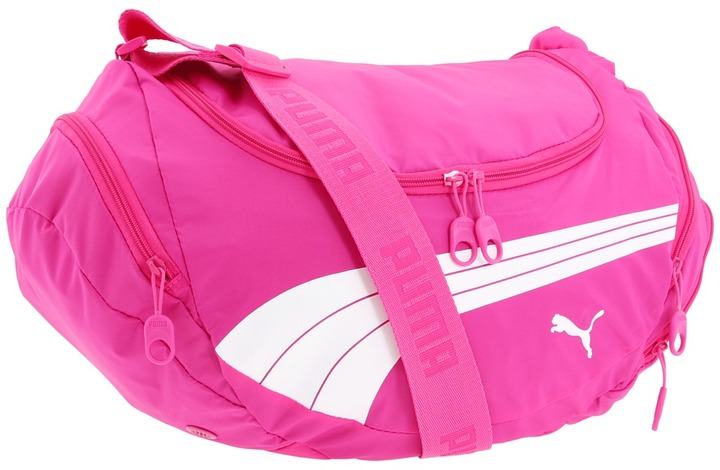 Puma Freestyle Hobo Duffel (Raspberry) - Bags and Luggage