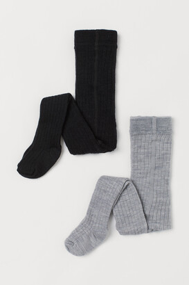H&M 2-pack Wool-blend Tights