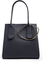 Roksanda Square leather tote