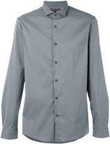 Michael Kors curved hem shirt - men - Cotton/Nylon/Spandex/Elastane - S
