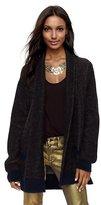 Juicy Couture Oversized Leopard Coat