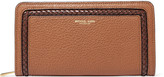 Michael Kors Textured-leather continental wallet