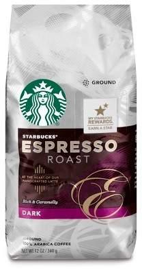 Starbucks Espresso Roast Dark Roast Ground Coffee - 12oz