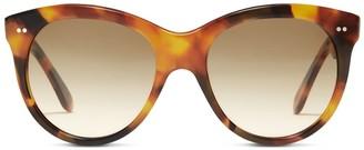 Oliver Goldsmith Sunglasses Manhattan 1960 Light Tortoiseshell