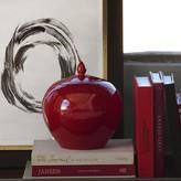 Williams-Sonoma Red Ginger Jar, Round