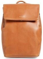Matt & Nat 'Fabi' Faux Leather Laptop Backpack - Brown