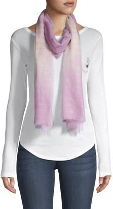 Bindya Ombre Glitter Stripe Wool Scarf