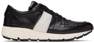 Tiger of Sweden SSENSE Exclusive Black Saarinen Low Sneakers