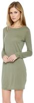 Daftbird Long Sleeve Mini Dress