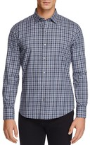 Zachary Prell Flannel Plaid Regular Fit Button Down Shirt