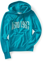 Aeropostale Washed-Out Popover Hoodie