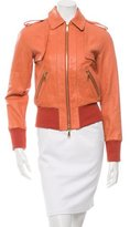 Rachel Zoe Jetta Leather Jacket