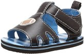 Gerber Kids' Chocolate Football Eva K Sandal
