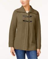 brown flyaway cardigan - ShopStyle