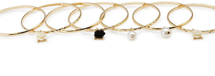 Forever 21 Charmed Bangle Set