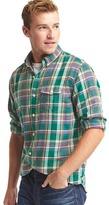 Gap Plaid utility shirt