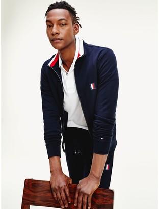 Tommy Hilfiger Monogram Badge Zip Sweatshirt