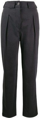 Mara Hoffman Jade pinstripe trousers