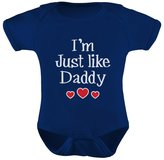 TeeStars - I'm Just Like Daddy - Cute Father's Day Gift Bodysuit Baby Onesie