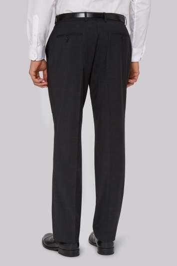 Moss Esq. Performance Regular Fit Charcoal Pants