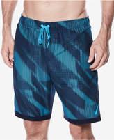 "Nike Men's Big & Tall Printed 9"" Swim Trunks"