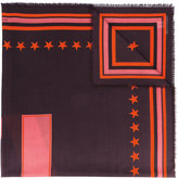 Givenchy 17 print scarf - women - Silk/Cashmere/Virgin Wool - One Size