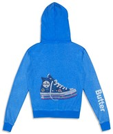 Butter Shoes Girls' Studded Sneaker Hoodie - Sizes S-XL
