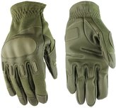 Fuyuanda Tactical Military Outdoor Gloves Full Finger Cycling Shooting Motorcycle Gloves (L, )