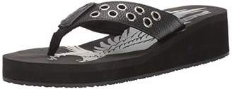 AdTec Women's Ride Tecs Womens Ring Thong Sandal Grommet Synthetic