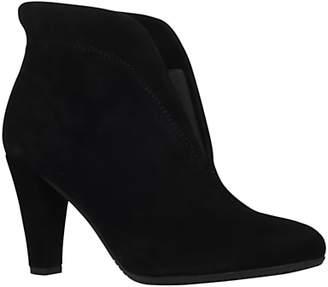 Carvela Comfort Rida Mid Heel Ankle Boots, Black Suede
