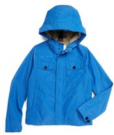 Burberry Boy's 'Mini Yateson' Hooded Rain Jacket