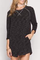 She + Sky Soft Knit Dress