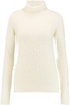 Chloé Textured wool-blend turtleneck sweater