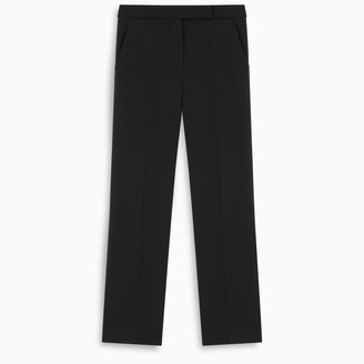 Max Mara Black Oncia trousers