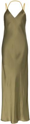 Helmut Lang slip-style maxi dress