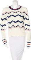 Veronica Beard High-Low Long Sleeve Sweater