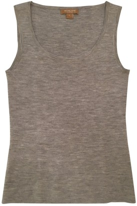 Michael Kors Grey Cashmere Top for Women